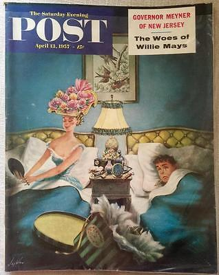 Primary image for The Saturday Evening Post April 13, 1957 - FULL MAGAZINE