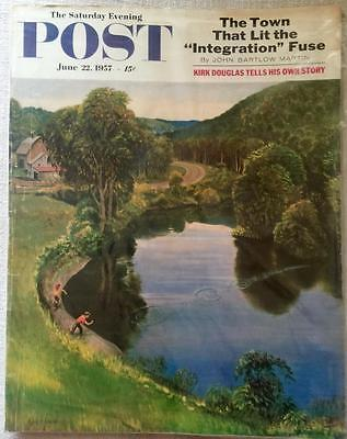 Primary image for The Saturday Evening Post June 22, 1957 - FULL MAGAZINE
