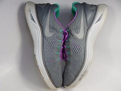 Nike Lunarglide+ 4 Women's Running Shoes Size US 9.5 M (B) EU 41 Gray 524978-015