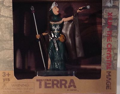"Primary image for Action Figure Doll Terra Fantasy 5"" Xiun  Crystal Mage Viking 1:40 scale Battat"