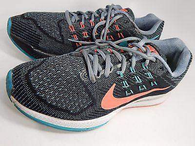 Nike Structure 18 Women's Running Shoes Size US 9.5 M (B) EU 41 Gray 683737-001
