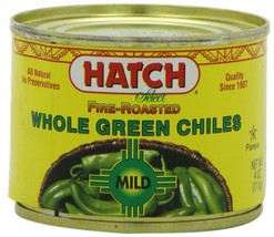 Hatch Chile Company Fire Roasted Whole Green Chiles, Mild, 4 Oz Can (Pac... - $26.46