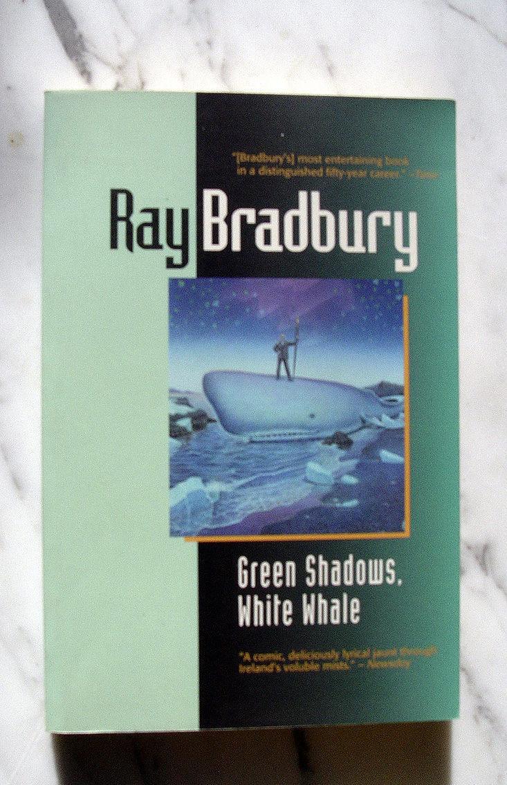 Ray Bradbury  GREEN SAWDOWS WHITE WHALE signed 1st thus