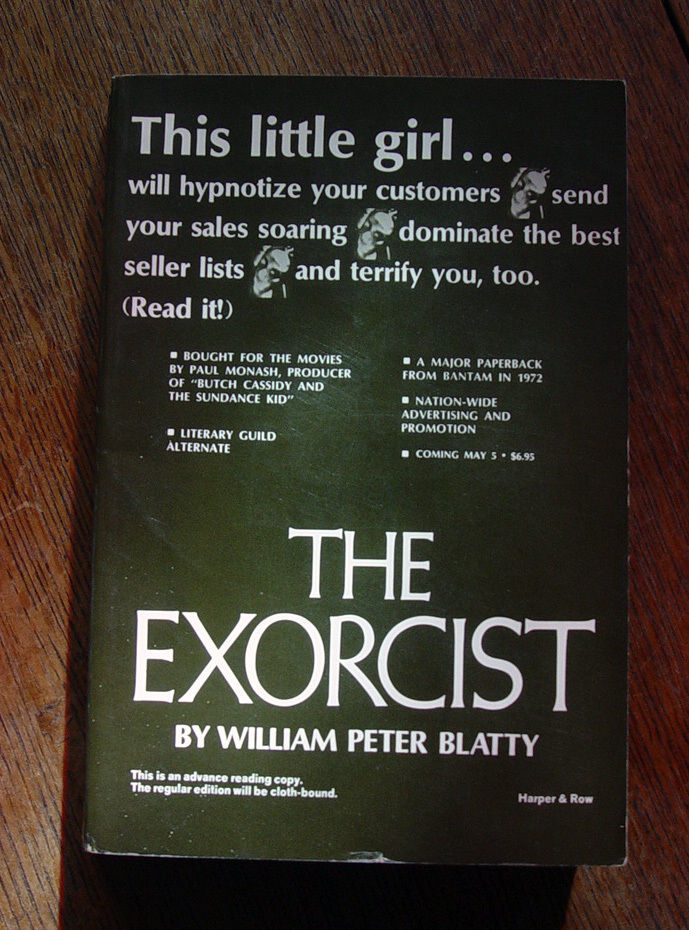 William Peter Blatty THE EXORCIST Advance Reading Copy (SIGNED)