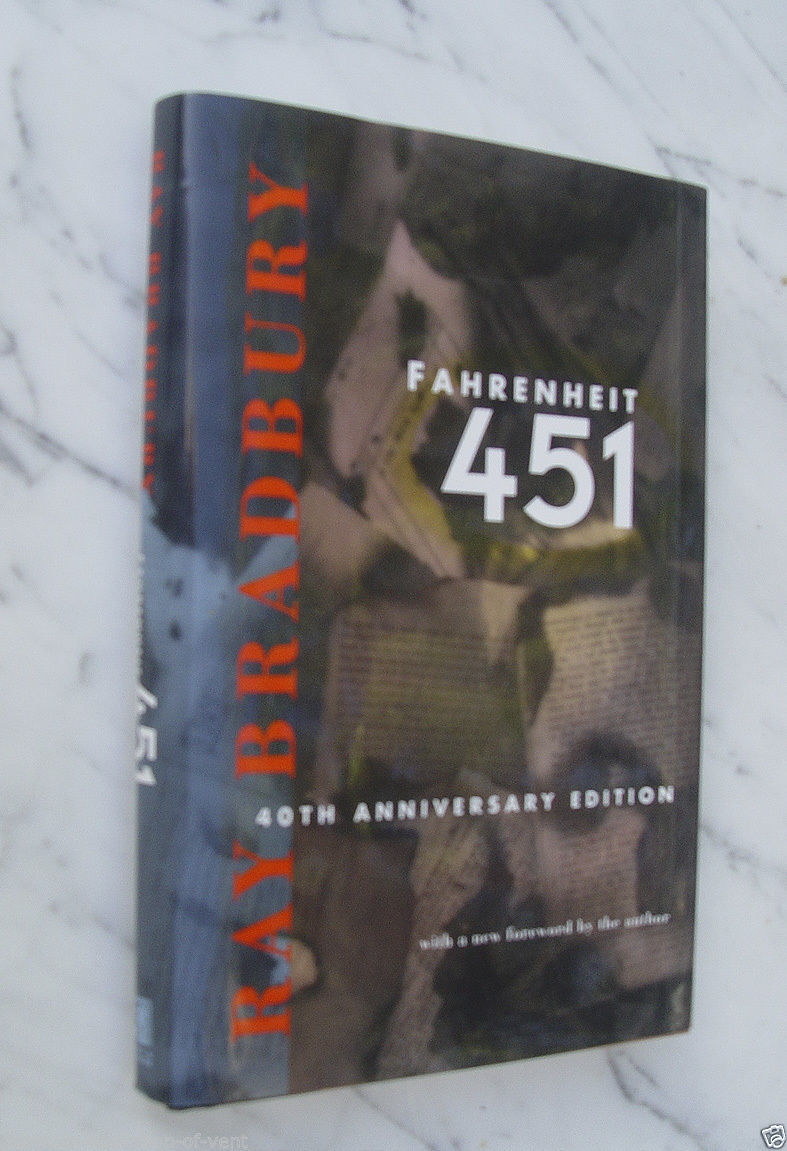 Ray Bradbury Fahrenheit 451 40th Anniv. Ed. signed first mint