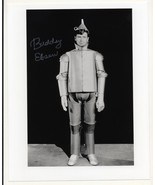 Buddy Eben Tin Man of Oz HAND-SIGNED actual pho... - $150.00