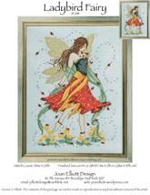 Ladybird Fairy JE081 cross stitch chart Joan Elliott Designs - $14.00