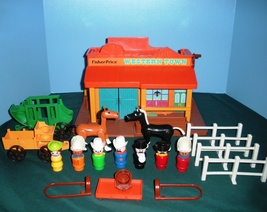 Vintage Fisher Price #934 Play Family Western T... - $120.00