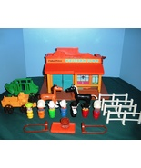 Vintage Fisher Price #934 Play Family Western Town Comp. w/Bonus/EXC++-N... - $120.00