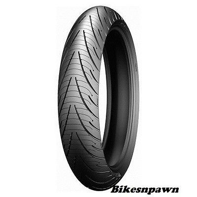 New Michelin Pilot Road 3 110/70ZR17  Front Motorcycle Tire 22997  54W