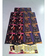 ***SANTANA***  Lot of 21 cards.....2 DIFFERENT / MUSIC - $9.99