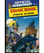 1989 OVERSTREET COMIC BOOK PRICE GUIDE #19 softcover Jerry Robinson BATM... - $9.89