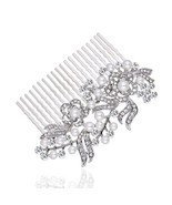Bridal Short Hair Side Comb for Wedding or Party Hair Clip Women's GIFT ... - ₹965.79 INR