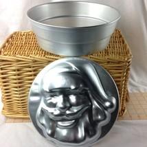 WILTON 1974 MULTI PAN CHRISTMAS CAKE PAN RING W/ ALUMINUM INSERT SANTA #... - $9.99