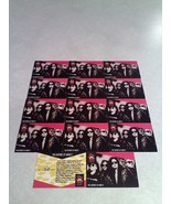 ***THE SISTERS OF MERCY***  Lot of 14 cards / MUSIC - $8.99