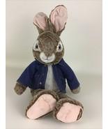 "Peter Rabbit Plush Stuffed Animal Toy 23"" Collector's Choice Bunny 2020 ... - $24.70"