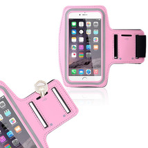 Sports Running Workout Gym Armband Case Cover Samsung Galaxy Note 3 4 Pink - $4.99