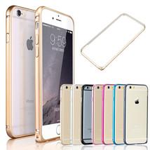 Thin Aluminum Metal Bumper Frame Case Protector Buckle Lock Apple iPhone... - $3.50