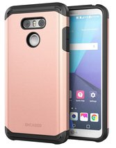 LG G6 Case Rose Gold - Premium Tough Protection (impact armor) Scorpio R... - $10.99