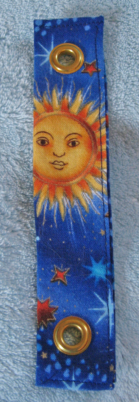 Primary image for Mandolin/Banjo Strap Adapter/Celestial Print/Handcrafted/New