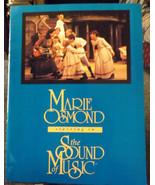 SOUND OF MUSIC SOUVENIR PROGRAM - MARIE OSMOND & LAURENCE GUITTARD - $10.50