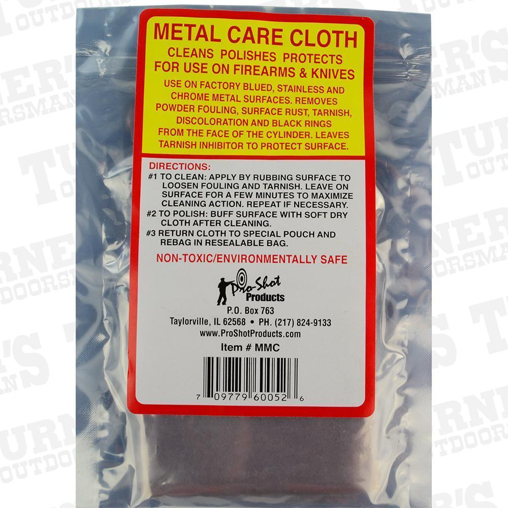 Primary image for Pro-Shot Metal Care Cloth (Makes Polish Obsolete)  # MMC    New!