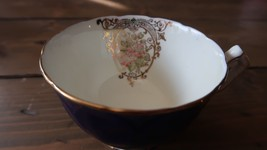 Rare Aynsley Flower Teacup Great Condition - $247.49