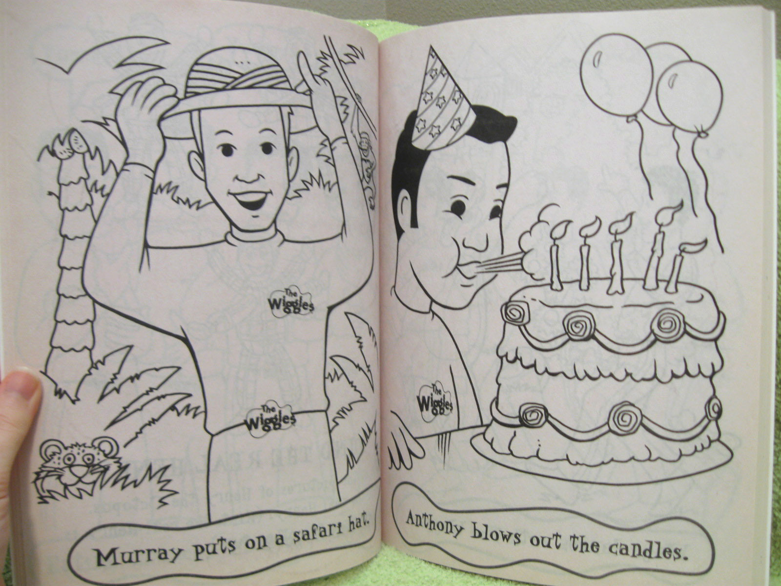 new wiggles coloring pages - photo#39