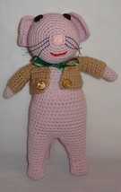 """New Mouse Doll 12"""" Crochet Finished Complete Toy - $31.56"""