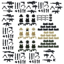 Custom Minifigures Military Army Guns Weapons Compatible w/ Lego Sets Mi... - $22.99