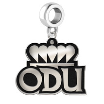 Old Dominion ODU Monarchs Silver Logo Dangle Fi... - $39.00