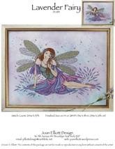 Lavender Fairy JE083 cross stitch chart Joan Elliott Designs - $14.00