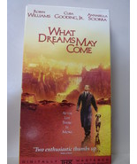 What Dreams May Come (VHS, 1999, Digitally Mastered; Closed Cap) Robin W... - $3.47