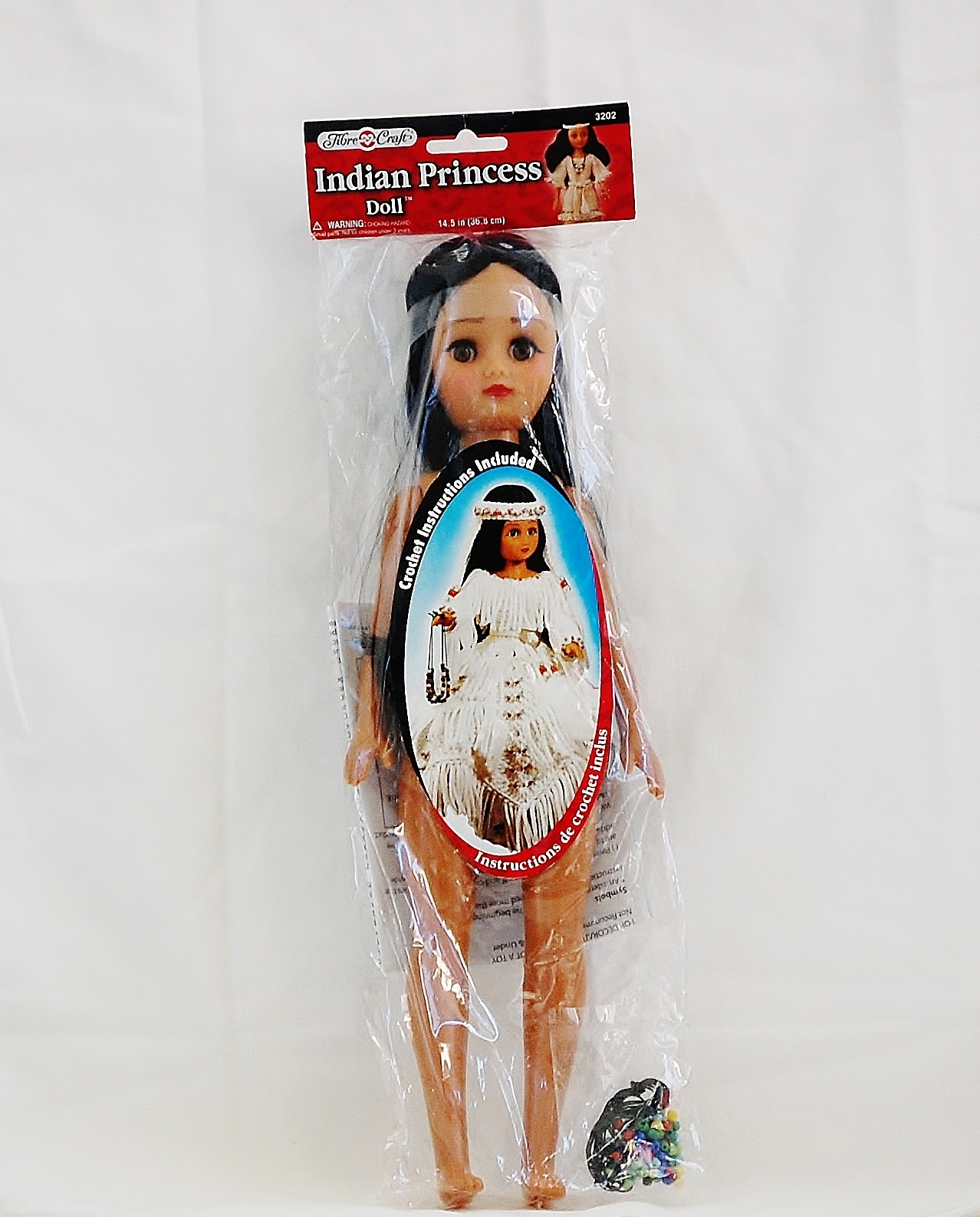 Fibre craft indian princess iv doll with crochet pattern for Fibre craft 18 inch doll