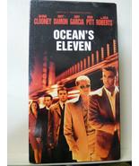 Ocean's Eleven (VHS, 2002) George Clooney, Brad Pitt - $2.97