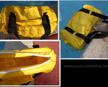 Yellow inflatable duffel bag collage thumb155 crop