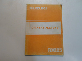 1983 Suzuki Rm125 Rm 125 Owners Owner Manual Factory Oem Book 83 Dealership - $54.44