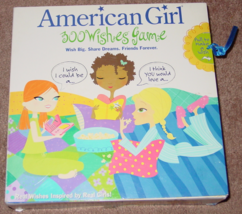AMERICAN GIRL 300 WISHES GAME 2005 MATTEL COMPLETE EXCELLENT - £14.64 GBP