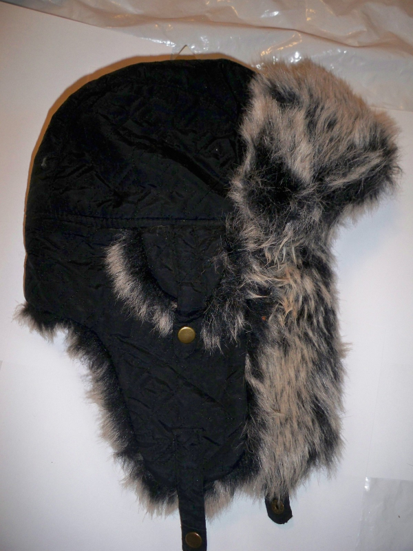 Primary image for CHARMING CHARLIES FAUX FUR TRAPPER HAT BEANIE ladies WOMEN'S SNOW CAP $39 NEW