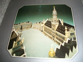 Market Place From Brussels 3D Puzzle - $30.00