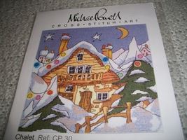 Michael Powell Chalet Cross Stitch Chart - $14.00
