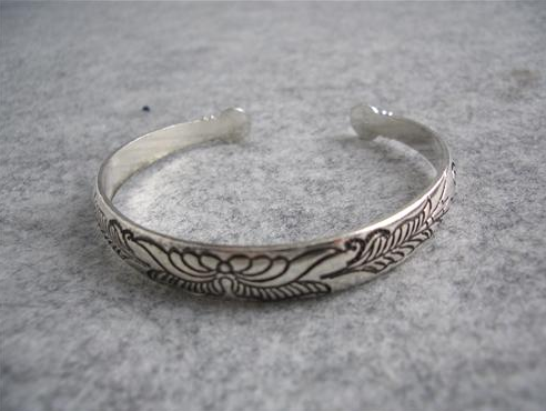 Primary image for Fashion Stylish Silver Wings Pattern Bracelet