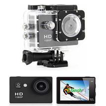 12MP FULL HD Helmet Sports DVR Car DV Action Waterproof 30M Camera 1080p   - $54.99