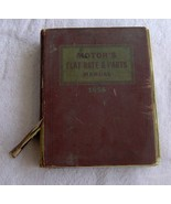 1956 Motors Flat Rate And Parts Manual Automotive Book Hardcover  - $16.99
