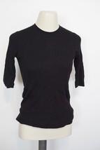 VINCE | Short Sleeve Crew Neck Top VR34176168sz S shirt women's BLACK $... - $118.79