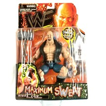 Stone Cold Steve Austin WWF WWE Jakks Action Figure Maximum Sweat 1999 S... - $24.70