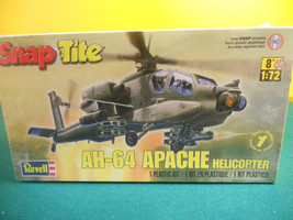 Revell SnapTite Apache Helicopter Plastic Model Kit NEW IN THE BOX!!! - $12.99