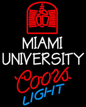 Coors Light NCAA Miami University Neon Sign - $699.00