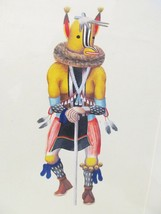 "LEROY KEWANYAMA HOPI ORIGINAL SIGNED ""63 GOUACH... - $1,994.97"