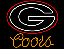 Coors ncaa university of georgia neon sign 16  x 16  thumb200